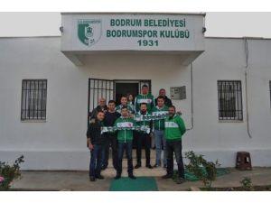 Muğlasporlu Taraftarlar, Bodrumspor'u Ziyaret Etti