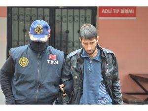 Polisin kaçarken vurduğu terör örgütü yandaşı tutuklandı