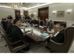 ABD Genelkurmay Başkanı F. Dunford, Başbakan Davutoğlu ile görüştü