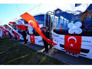 Büyükşehir'in Köyceğiz-ortaca Seferleri Başladı