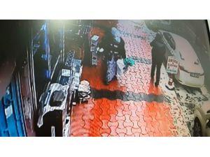 Diyarbakır'da Hırsızlık Anı Kamerada