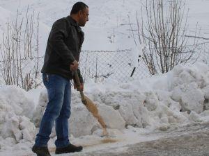 Siirt'te Doğaya Yem Bırakıldı
