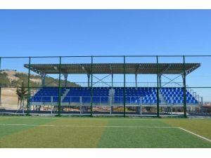 Altınşehir Ve Esentepe Stadına Yeni Tribün Yapıldı