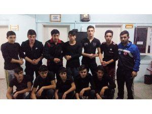 İskilip'te Gençler Profesyonel Güreş Eğitimi Alacak