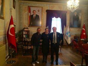 Türkiye Gençlik Ve Spor Konfederasyonu Genel Başkan Yardımcısından Darülâceze'ye Saygı Ziyareti