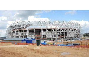 Gaziantepspor'un Yeni Stadı'nın Yüzde 74 Tamamlandı