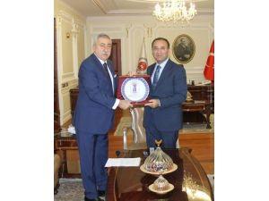 Bakan Bozdağ, Tesk Başkanı Palandöken'i Kabul Etti