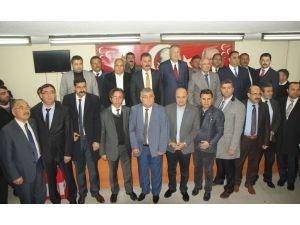 Mersin MHP'den Bahçeli'ye destek