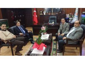 Başkan Uysal'dan Demirtaş'a 'Geçmiş Olsun' Ziyareti