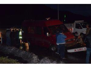 Trabzon'da Kaza Ucuz Atlatıldı