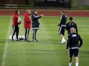 Beşiktaş, Devre Arası Hazırlıklarını Sürdürdü