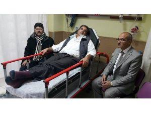 Nevşehir'de Öğretmen Okul Müdürünü Darp Etti