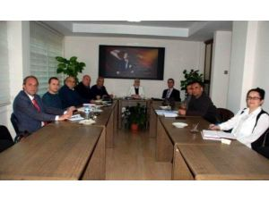 Aydın'da İş Sağlığı Ve Güvenliği Uzmanları Toplantısı Yapıldı