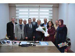 MHP Yunusemre Teşkilatı'ndan Yaşar Coşkun'a Ziyaret