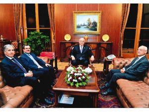 Turgut Özal Üniversitesi'nden Meclis Başkanı Kahraman'a Ziyaret
