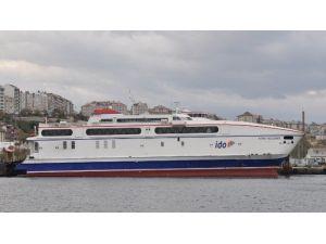Bandırma'da Deniz Otobüsü Seferleri İptal Edildi