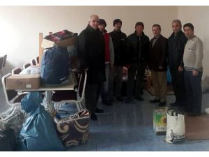 Altıntaş'tan Türkmenlere Yardım