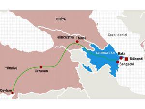 BTC üzerinden 2015'te 28,8 milyon ton Azerbaycan petrolü nakledildi
