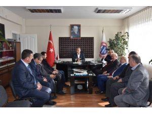Başkan Albayrak'tan Çorlu Yeni Sanayi Sitesi Yönetim Kurulu'na Ziyaret