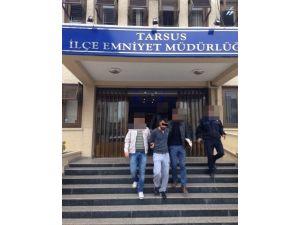 Tarsus'ta 'Uyuşturucu' Ve 'Hırsızlık' Operasyonu: 5 Kişi Tutuklandı