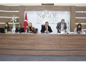 Niğde Belediyesi Meclisi Yeni Yılın İlk Toplantısını Yaptı