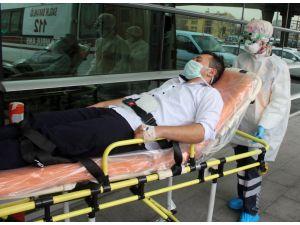 Kayseri'de domuz gribi şüphesiyle 3 kişi hastaneye kaldırıldı