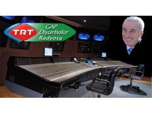 Vali Kamçı, TRT GAP Radyosunda Canlı Yayına Katıldı