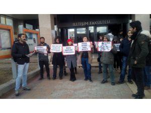 İletişim Fakültesi öğrencileri: Basına sansür karşısında susmadık, susmayacağız