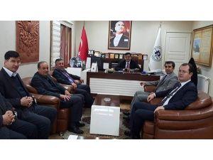 Bilecik İl Genel Meclis Başkanı Serkan Yıldırım'dan Başkan Yalçın'a Ziyaret