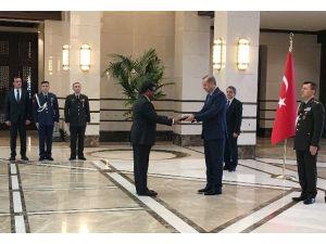 Bangladeş Büyükelçisi Sıddiki'den Cumhurbaşkanı Erdoğan'a Güven Mektubu