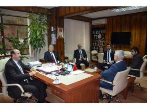 Halk Oyunları Federasyon Başkanından Fındıklı'ya Ziyaret