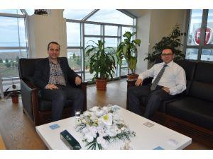 Osman Sav, İbrahim Kuzu'ya Başarılar Diledi