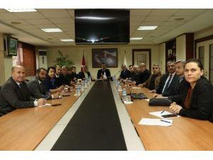 Mersin'de 'Habur Sınır Kapısı'ndaki Sorunlar Konuşuldu