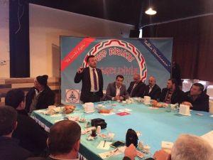 Çumra Belediyesi'nin İstişare Toplantıları Sürüyor