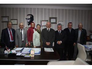 Türk Kızılayı Safranbolu Şube'sinden Uzun'a Ziyaret