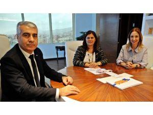 CHP'li Aylin Nazlıaka'dan Başkan Çerçioğlu'na Ziyaret