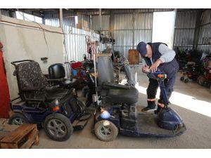 Adapazarı Belediyesi, Arıza Yapan Engelli Araçlarını Ücretsiz Onarıyor