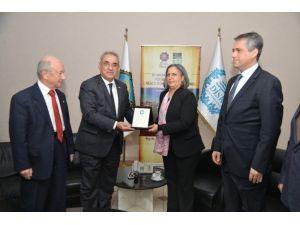 DSP'den Eş Başkanlara Ziyaret