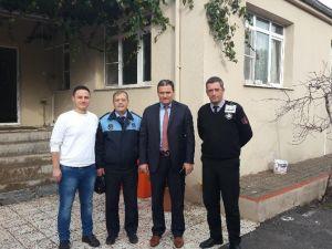 Zabıta Dairesi Başkanı İra'dan Gördes Ziyareti