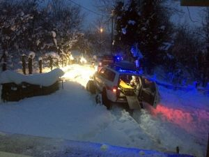 Yoğun Kar Yağışı 112'nin Vaka Sayısını 2 Kat Artırdı