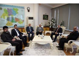 Thof Başkanı Ozanoğlu'ndan, Büyükşehir Belediyesine Ziyaret