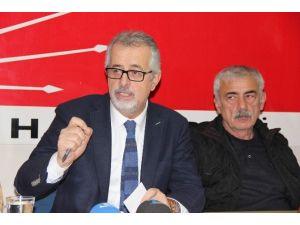 CHP İl Başkanı Dinçel'den Vergili'ye Gönderme