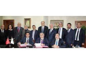 Gaziantep'te gazeteciler için toplu konut projesinde protokol imzalandı