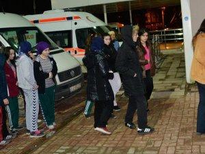 Ordu'da yurtta kalan 60 lise öğrencisi zehirlendi