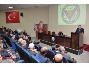 Vali Kahraman Üniversite-sanayi-kamu İşbirliği Çalıştayına Katıldı