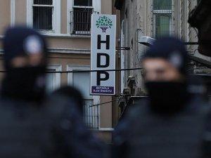 HDP Beyoğlu İlçe Başkanlığı'nda arama başlatıldı