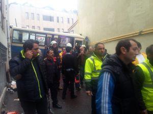 Sarıyer'de kaza: Yaralılar var