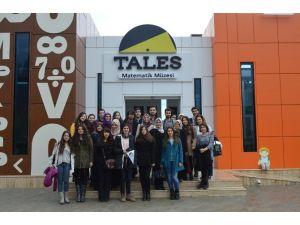 Dokuz Eylül Üniversitesi'nden Tales Matematik Müzesi'ne Ziyaret