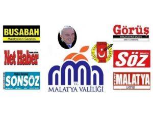 Vali Kamçı'nın, 10 Ocak Çalışan Gazeteciler Günü Mesajı