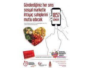 Sosyal Market'te Sms İle Yardım Kampanyası Devam Ediyor